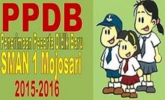 Pengumuman Penerimaan Peserta Didik Baru SMAN 1 Mojosari 2015/2016