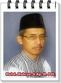 Mohd. Mahrus, S.Ag. M.PdI.