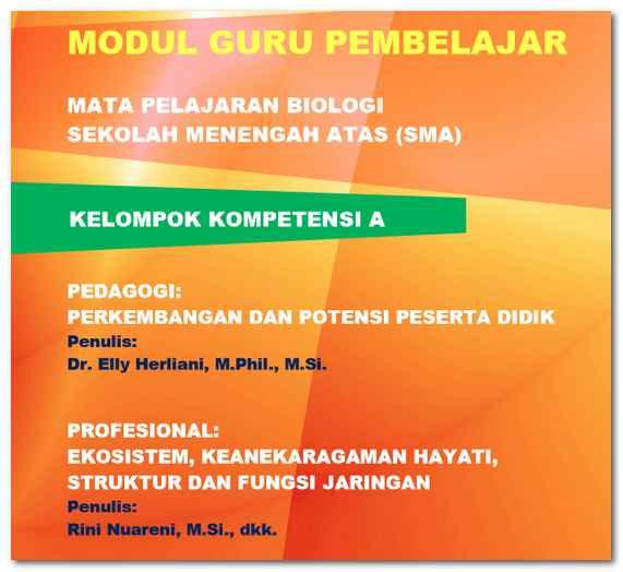 Modul Guru Pembelajar Biologi SMA Lengkap