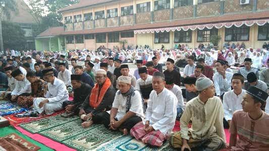 Hari Raya Idul Adha 1440 H di SMAN 1 Mojosari